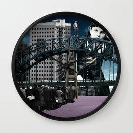 Mass psychosis Wall Clock