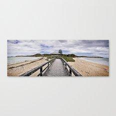 Penquin Island Boardwalk Canvas Print