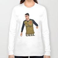 arsenal Long Sleeve T-shirts featuring Mesut Özil by siddick49
