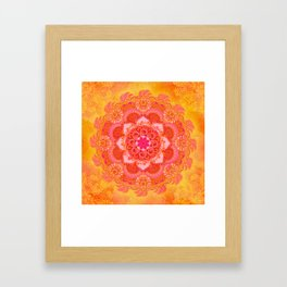 Sun Bliss Framed Art Print