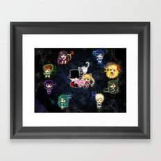 Sailor Moonies Framed Art Print