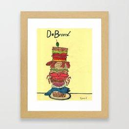 The World's Most Exotic Sandwich Framed Art Print