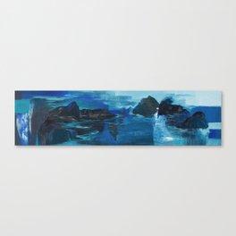 Cartografias del Agua Canvas Print