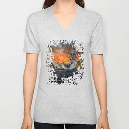 Chacmool Unisex V-Neck