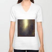 wonderland V-neck T-shirts featuring wOnderLand by Dirk Wuestenhagen Imagery