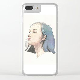 She (1 of 5) Clear iPhone Case