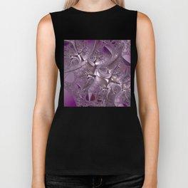 Cool Romance - Eternal love in the universe of fractals Biker Tank