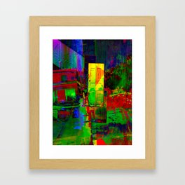 adore Framed Art Print