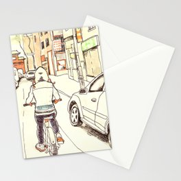 Montreal Bike Ride Stationery Cards
