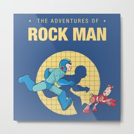 THE ADVENTURE OF ROCKMAN Metal Print