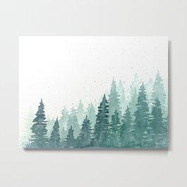 Evergreens Metal Print