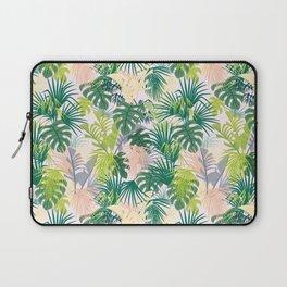 Pink jungle pattern Laptop Sleeve