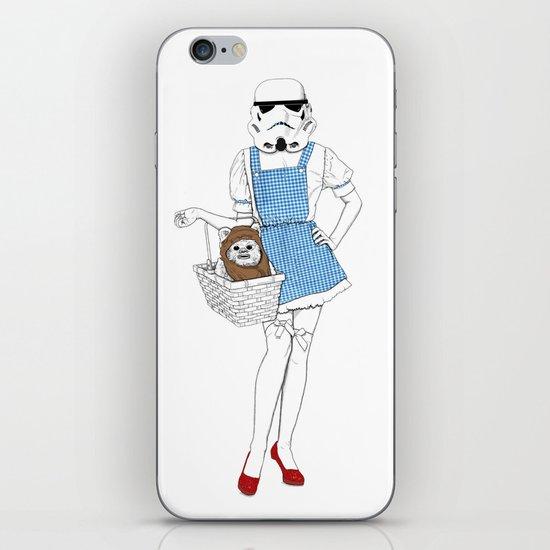 Dorothy trooper iPhone & iPod Skin
