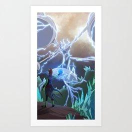 K'e Homeworld Art Print