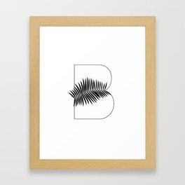 Palm B Framed Art Print