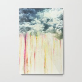 Let it rain on me Metal Print
