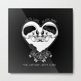 """The Captain"" - Biffy Clyro Metal Print"