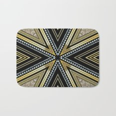 Glam Cross Star Bath Mat