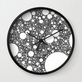 A Million* Little Circles Wall Clock