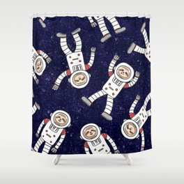 Astro Sloth Shower Curtain