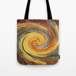 Swirl 03 - Colors of Rust / RostArt Tote Bag