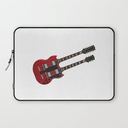 Double Neck Guitar Laptop Sleeve