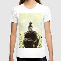 samurai T-shirts featuring Samurai by Tony Vazquez