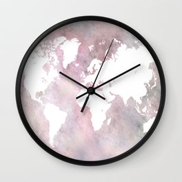 Design 66 world map Wall Clock