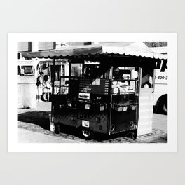 Hot Dog Stands of Toronto - I Art Print