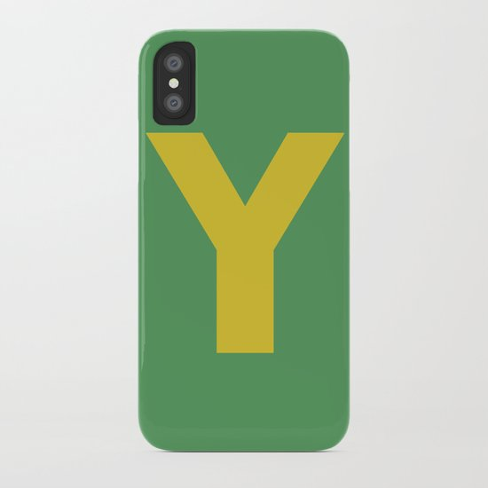 Y is for... iPhone Case