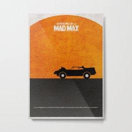 Mad Max Metal Print