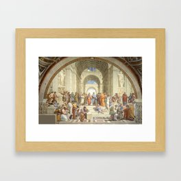 The School of Athens, Raphael, 1511 Framed Art Print