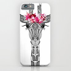 FLOWER GIRL GIRAFFE iPhone 6 Slim Case