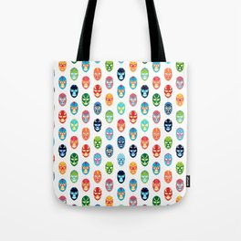Lucha libre mask pattern Tote Bag