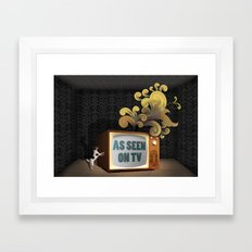 As Seen on TV Framed Art Print