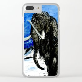 Old Winter Veteran Clear iPhone Case