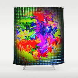 Abstract Perfection 16 Shower Curtain