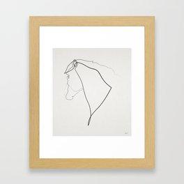 Horse 2512 Framed Art Print