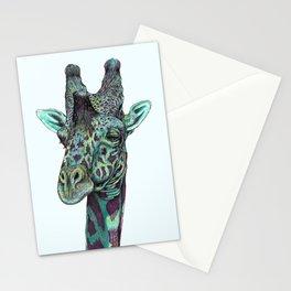 BLUE GIRAFFE Stationery Cards