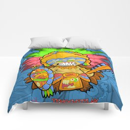 Azteca Moderno - Eagle Warrior Munny Comforters