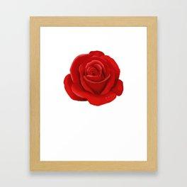 June Rose Anthophile Or Designer Gift Framed Art Print