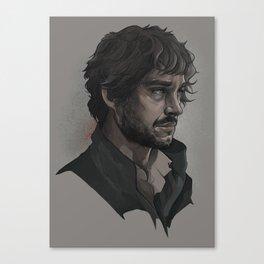 Will Graham, portrait Canvas Print
