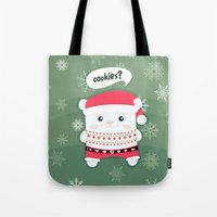 cookies Tote Bags featuring cookies? by techjulie