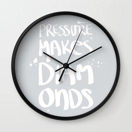 Diamonds Wall Clock