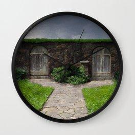Choices (Secret Garden) Wall Clock