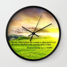 dyh Wall Clock