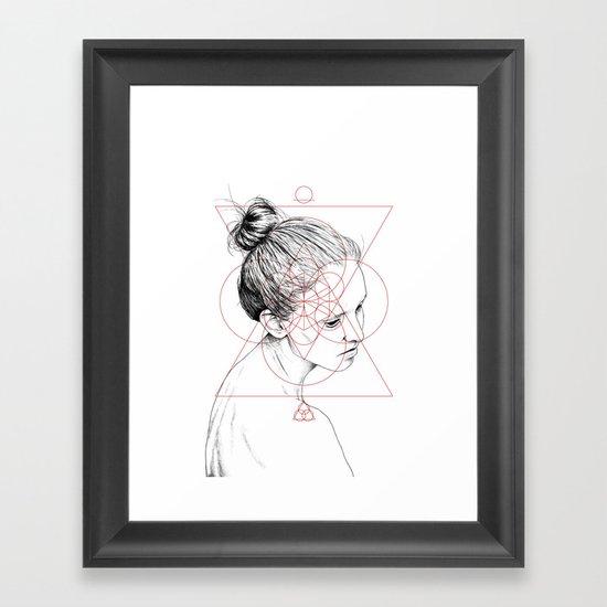 Face Facts II Framed Art Print