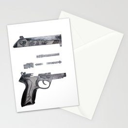 Cupid's Gun Stationery Cards