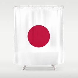 Flag: Japan Shower Curtain