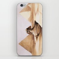 egypt iPhone & iPod Skins featuring Dark egypt by Tony Vazquez